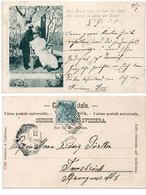 Couple Amoureux -Nur Einmal Blüht Im Jahr Der Mai - 1900  (108796) - Couples