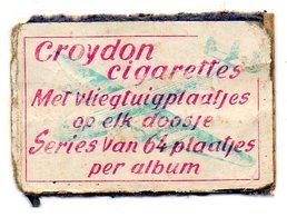 Croydon Cigarettes Avion - Matchbox Labels