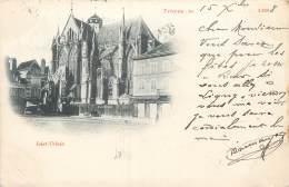 CARTE PRECURSEUR TIMBREE TYPE SAGE 1898 TROYES SAINT URBAIN - Troyes