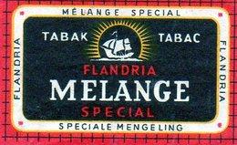 Flandria Melange Spécial Bateau - Matchbox Labels