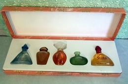 Ancien Coffret 5 Miniatures  D'YVES ROCHER Eau De Toilette Et De Parfum - Miniatures Womens' Fragrances (in Box)