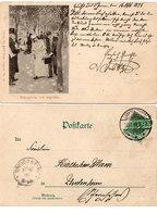 Couple Amoureux - Begegnung Von Ungefähr  - Incunable 1898 (108798) - Couples
