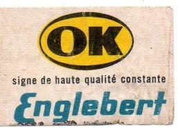 OK Englebert - Matchbox Labels