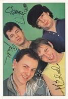 Bravo Autogrammkarte SPIDER MURPHY GANG (Autogramme Gedruckt), Rückseitig Mit Beschreibung - Autogramme & Autographen