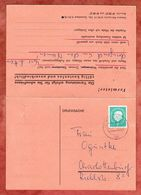 Drucksache Mit Antwortpostkarte, EF Heuss + Bauten, Berlin 1960 (55931) - Berlin (West)