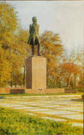 Uzbekistan - Postcard Unused - Tashkent - Pushkin Monument - Uzbekistan