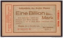 ALLEMAGNE - NOTGELD - MANEN - 1 Billion Mark Du 06 11 1923 - [11] Local Banknote Issues