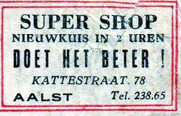Super Shop Aalst - Matchbox Labels