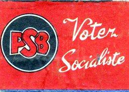 Votez Socialiste P S B - Matchbox Labels