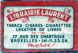Librairie Laurent Tabacs Journaux Location De Livres Bruxelles 2 - Matchbox Labels