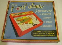 """Lot. 911. Ancien Jeu De Question """"l'Oeil Atomique"""" Londot Frères à Lodelinsart Belgique - Other"""