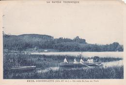 CPA - 3273. AIGUEBELETTE Un Coin Du Lac Au Port - Aiguebelle