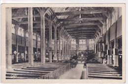 Honfleur Intérieur De L'Eglise Sainte Catherine N° 77 Carte Glacée - Honfleur