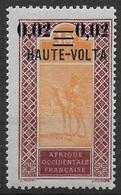 HAUTE VOLTA 1920 YT 19** - Neufs