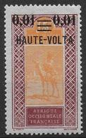 HAUTE VOLTA 1920 YT 18** - Unused Stamps