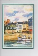 Honfleur Normandie - Aquarelle Claude Goument (Le Bois Postable Coll Sandrine) Cp Vierge - Honfleur
