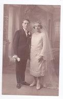 Ancienne Photo Carte Postale  De MARIAGE  BEZIERS - Persone Anonimi