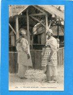 SOUDAN Français-villa Africain-femmes Soudanaises - Gros Plan Animé   -années 1910-20--édition C I A P - Sudan