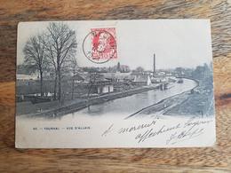 """CP Allain (Tournai) 1906 """"40. Vue D'Allain"""" - Tournai"""
