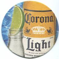 Lote M21, Mexico, Posavaso, Coaster, Corona, Light, Limon - Beer Mats