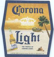 Lote M23, Mexico, Posavaso, Coaster, Corona, Light, Tropic, Irregular - Beer Mats