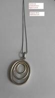 Chaîne & Pendentif En Argent Massif Et Nacre - Necklaces/Chains