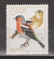 Duitsland, Allemagne, Deutschland, Germany, Alemania DDR 2388 MNH ; Zangvogel Singing Bird Vink Finch Pinson Pinzon - Zangvogels