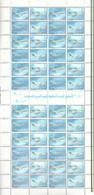 2004 SAUDI ARABIA Saudi Airlines Full Sheet 12 Sets MNH - Saudi Arabia