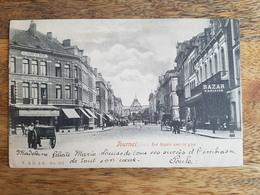 """CP Tournai 1904 """"Rue Royale Avec La Gare - V. & D. à B. - N°262"""" - Tournai"""