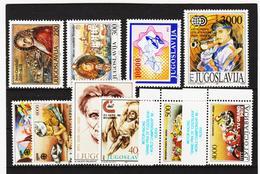 NEU1104 JUGOSLAWIEN LOT 1989  ** Postfrisch SIEHE ABBILDUNG - 1945-1992 Sozialistische Föderative Republik Jugoslawien
