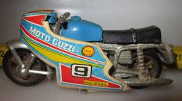 GUZZI MOTO SENZA CUPOLINO VINTAGE METAL - Motorcycles