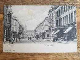 """CP Tournai 1906 """"La Rue Royale - H. N. à A. 1075"""" - Tournai"""