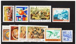NEU1106 JUGOSLAWIEN LOT 1989  ** Postfrisch SIEHE ABBILDUNG - 1945-1992 Sozialistische Föderative Republik Jugoslawien