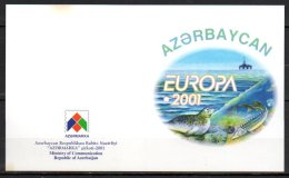 Azerbaidjan Carnet C417a**, Europa 2001 - Azerbaïdjan