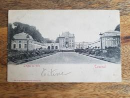 """CP Tournai 1901 """"L'Hôtel De Ville - Ed. V. G. 32366"""" - Tournai"""