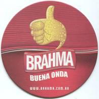 Lote A21, Argentina, Posavaso, Coaster, Brahma, Buena Onda - Beer Mats