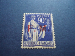 """1939   -timbre Neuf,  TB,  N°9  - F.M.   -""""90c Outremer         """"    Cote   1           Net  0.30 - Franchise Militaire (timbres)"""