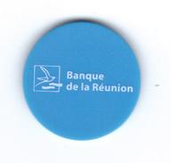 Jetons De Caddie ,Banque De LA REUNION, Jeton  Neuf - Professionali / Di Società