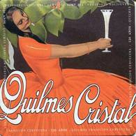 Lote A24, Argentina, Posavaso, Coaster, Quilmes, Cristal - Beer Mats