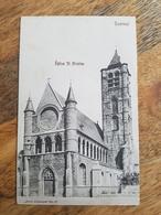 """CP Tournai """"Eglise St. Nicolas - Série Artistique N°12"""" - Tournai"""