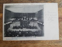 """CP Tournai 1905 """"Concert De La Société De Musique, Halle Aux Draps - Ruys-Morel"""" - Tournai"""