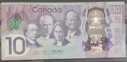 CANADA 2017 Commerative Banknote 10 Dollars UNC - Canada