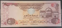 United Arab Emirates UAE 2017 Banknote 5 Dirhams UNC - Emirats Arabes Unis