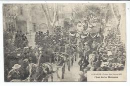 Aubagne,fetes Des Fleurs 1904,char De La Moisson - Aubagne