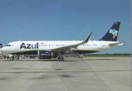Azul Linhas Aéreas Brasileiras A320 PR-YRB At FLN / SBFL Airport - 1946-....: Era Moderna