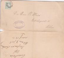 HOJA SHEET CIRCULEE AMSTERDAM  CIRCA 1896-BLEUP - 1952-.... (Elizabeth II)