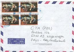 Burundi 2002 Bujumbura 100f Bulbophyllum Comatum Orchid Cover - Burundi