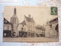 Place Saint-Ayoul Et Tour Notre-Dame Du Val - Provins