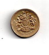England - Pièce De One Pound - 1983 Voir état - 1971-… : Decimal Coins