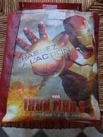 1 SAC MARVEL Iron Man 3 CINEMA - Trading Cards